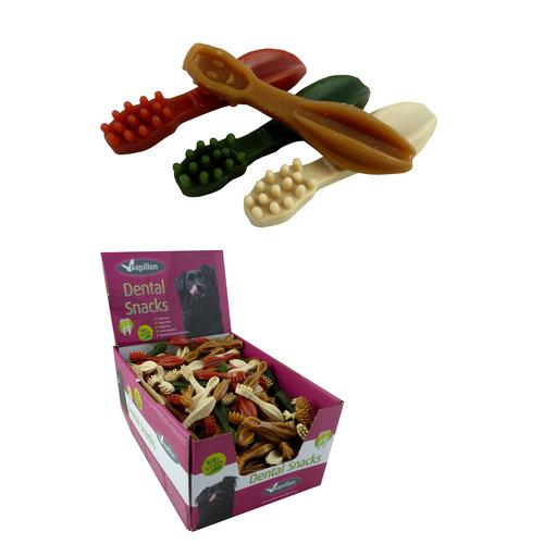 Papillon brosse à dents végétale 4 mélange de couleurs