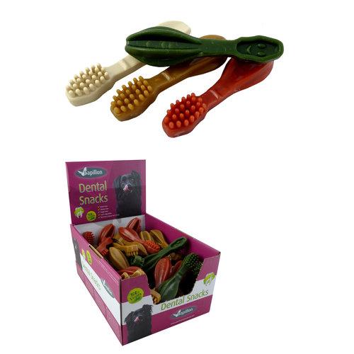 Papillon Gemüse Zahnbürste 4 Farbenmischung