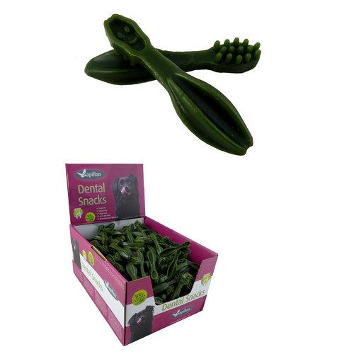 Papillon Gemüse Zahnbürste Grün
