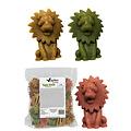 Papillon Vegetable Lions 3 color mix Medium