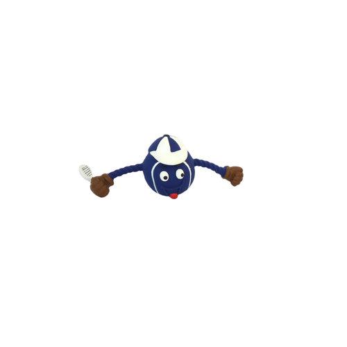 Papillon Latex tennis ball man red / white / blue