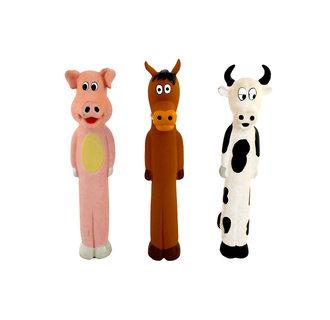 Latex long body cattle, horse & pig ass.