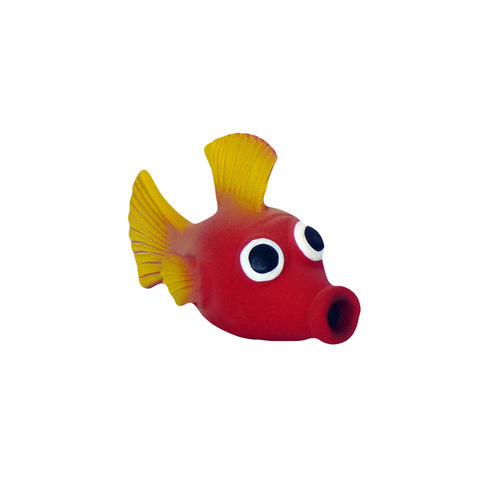 Papillon Latex assorted fish on rope