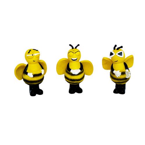 Papillon Latex abeilles assorties