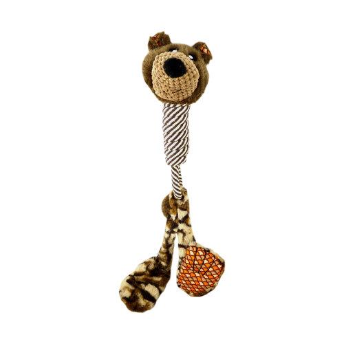 Papillon jouet en peluche avec du coton long cou