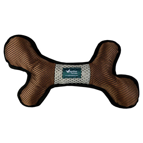 Papillon Strong dog toy bone shape