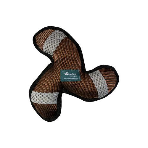 Papillon Starke Hundespielzeug Tri Flügel Bumerangform