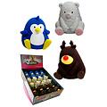 Papillon Latex ours / pingouin / renne dans l'affichage