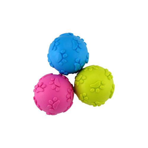 Papillon Ball TPR paw print