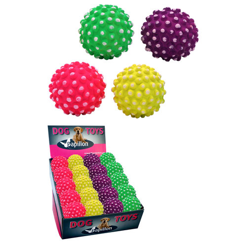 Papillon Rubber dotted neon sponge balls 7,2 cm