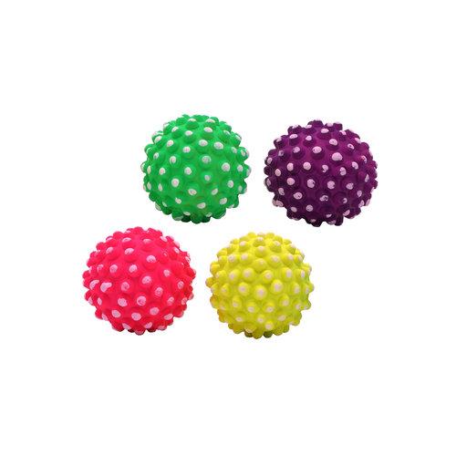 Papillon Caoutchouc pointillé balles en éponge néon 7,2 cm