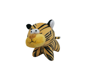short plush tiger 6 pieces