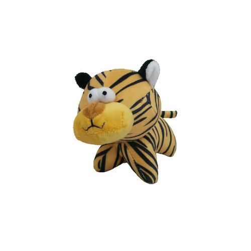 Papillon kurzer Plüsch tiger