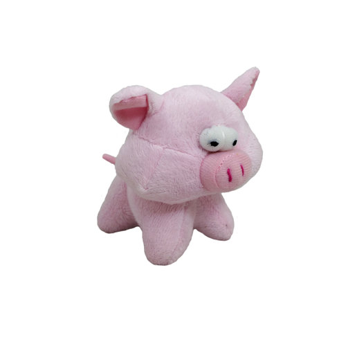 Papillon short plush pig