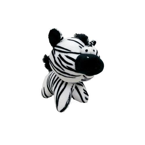 Papillon short plush zebra
