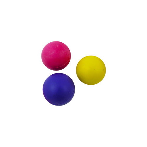 Papillon Rubber ball 40mm assorted colours