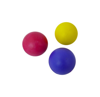 Rubber ball 60mm assorted colours