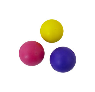 Rubber ball 85mm assorted colours