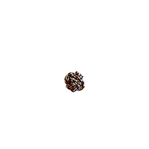 Papillon jouet coton flossy balle Ø 5.5cm, mix.col