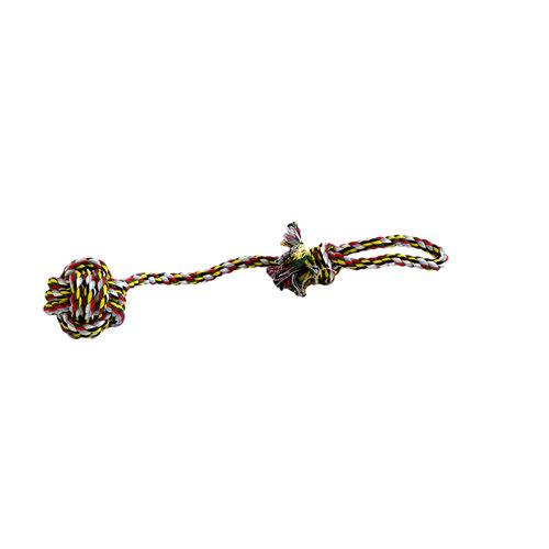 Papillon Coton jouet flossy balle + poignée col mixte.