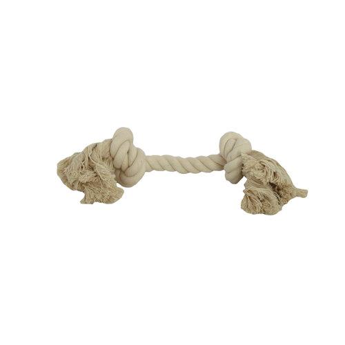 Papillon Coton jouet flossy 2 noeuds 270gr, 3 blancs