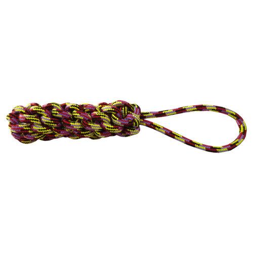 Papillon Woven rope tug 33 cm, 215-225 g, mixed c