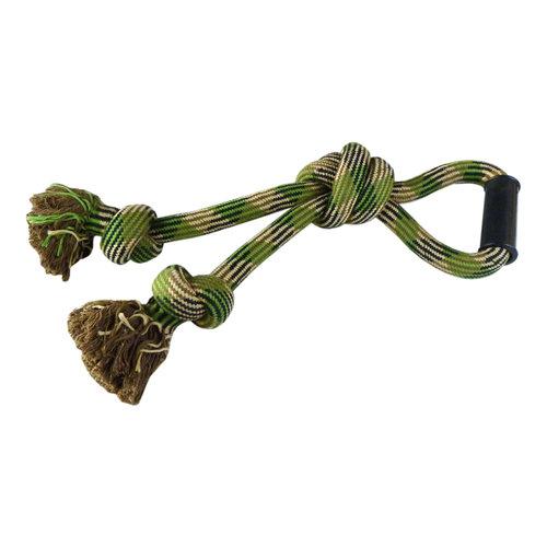 Papillon remorqueur de corde tressée w / poignée, 53 cm, 825-865g