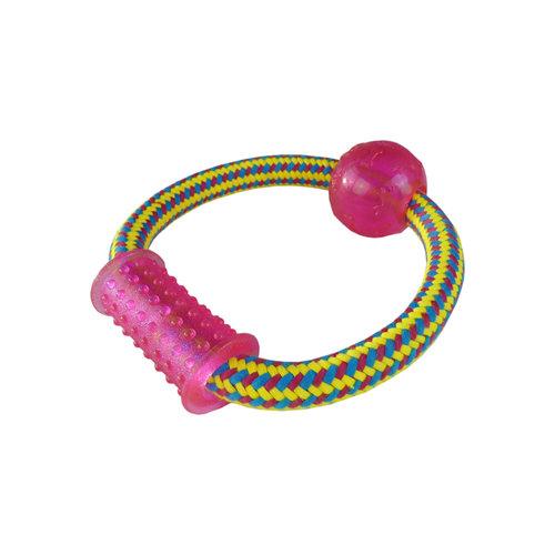 Papillon Weben Seil Spielzeug mit TPR, 15cm 100-110g