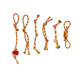 jouets corde assortis boîte 6