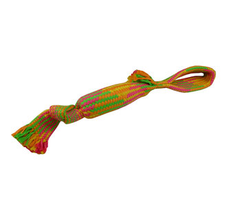 Rope toy with bottle 55 cm, 260-270 g