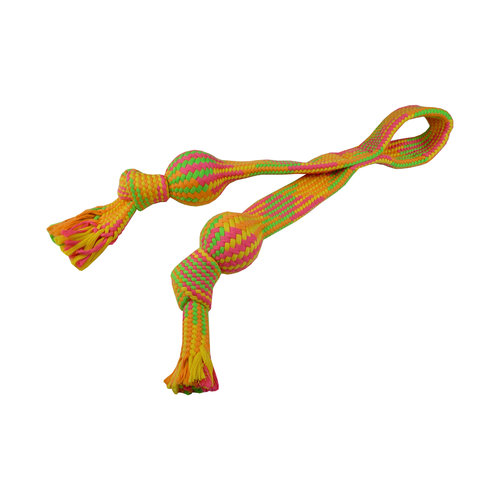 Papillon Rope toy with ball 60 cm, 485-495 g