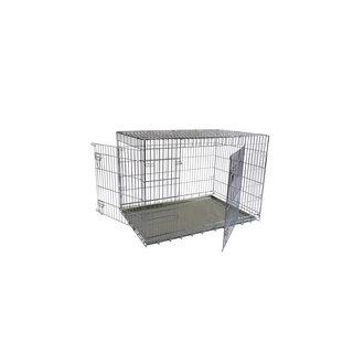 cage de fil 2L 87x58x67 cm, pliable