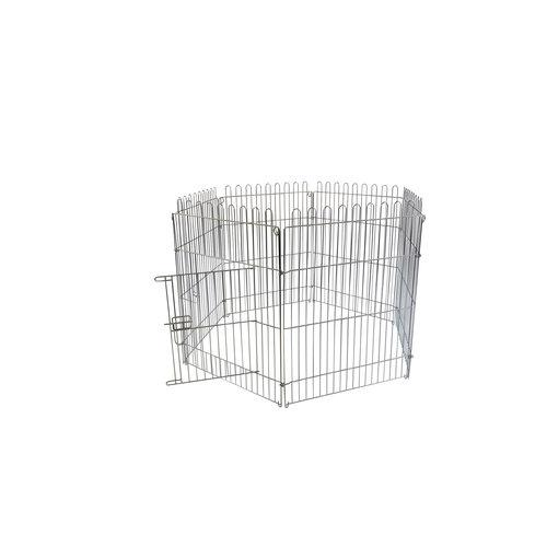 Papillon Fil cage chiot, 6 x (60x80)