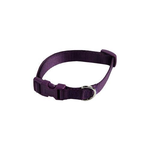 Papillon nylon base collier réglable violet