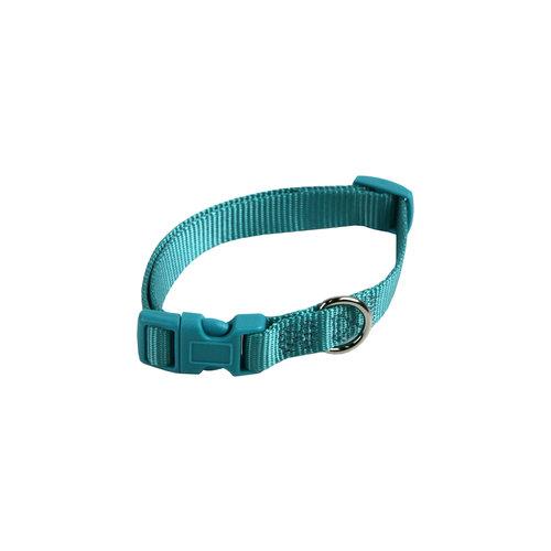 Papillon Basic nylon adjustable collar turquoi