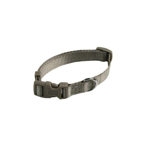 Papillon Basic nylon adjustable collar grey