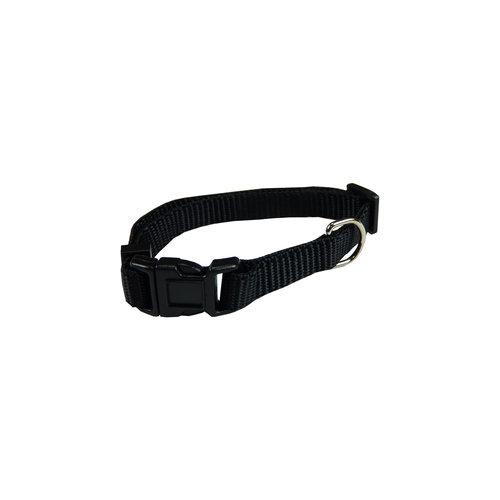 Papillon Basic nylon adjustable collar black