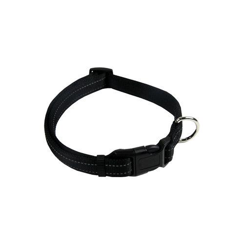 Papillon Refl. nylon adjustable collar black