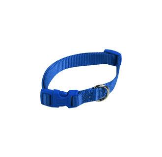 bleu collier réglable en nylon Basic