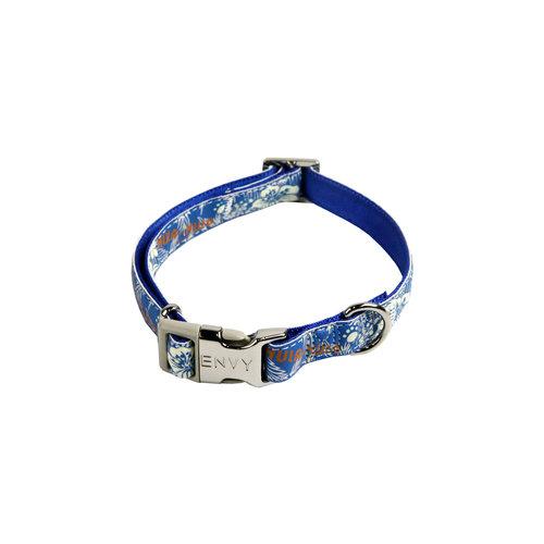 Papillon Hula Hula verstellbarer Kragen blau