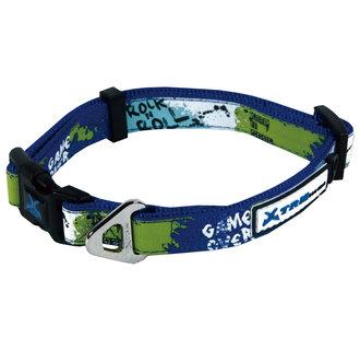 X-TRM Rock-N-Roll collier bleu