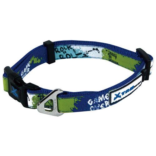 Papillon X-TRM Rock-N-Roll collar blue