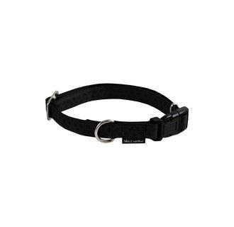 Mac Leather Mono adj. collar black