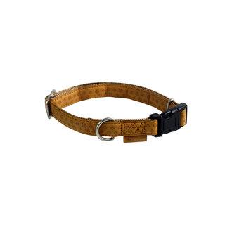 Mac Leather Mono adj. collar cognac