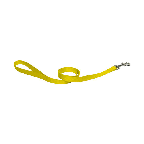 Papillon Basic nylon lead yellow