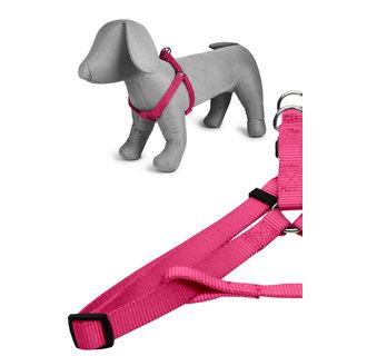 Basic nylon harness pink