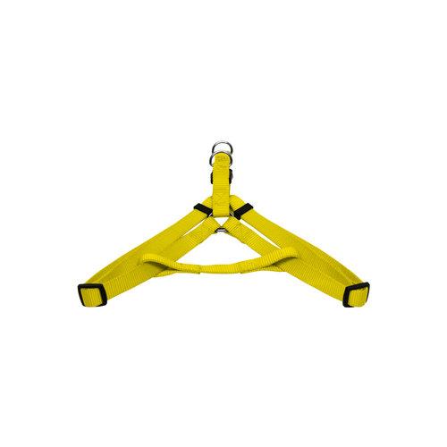 Papillon Grundgeschirr aus Nylon, gelb