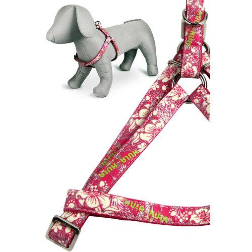 Papillon Hula Hula harness pink