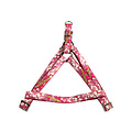 Papillon Hula Hula pink harness