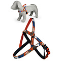 Papillon Macleather Mono harness red